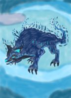 Make Element wolf Water No Pen by daylover1313