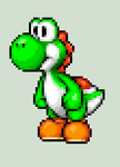 Yoshi Sprite (Close up) by NeoZ7