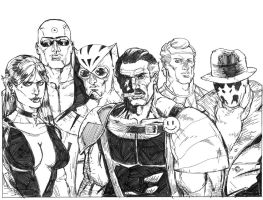 Watchmen 2000 views by jessemunoz