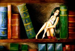 The Tale She had Shelved Away by HTHI