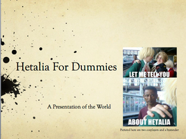 DownLoad: Hetalia For Dummies by ImperatrixTempore