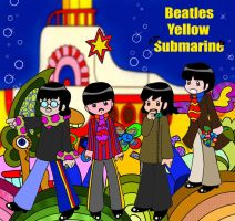 The Yellow Submarine by YukiMiyasawa