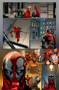 Deadpool page by DonoMX