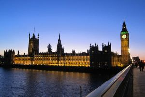 LONDON - Parliament House by night by elodie50a