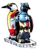 American Penguins by 66lightning