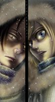 S.N.K - Ymir & Christa by excalibur321