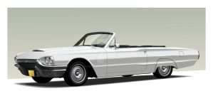 1964 Ford Thunderbird 2009 by CRWPitman