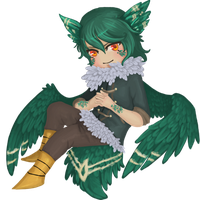 Commission- chibi Clyde by Lilith-the-5th