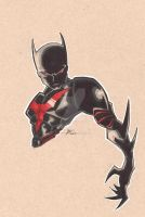 Batman beyond by bunleungart