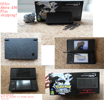 Limited Edition Black Pokemon DSI for sale by ATwistedRumour