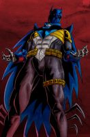 Knightfall Batman by MarcOuellette