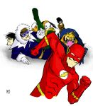 flash and the rogues by osopunkoso