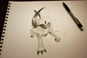 Absol by NChicaGFX