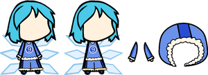 Cirno.EXE Custom by MikiBandy