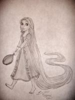 Rapunzel by The-Lighted-Soul