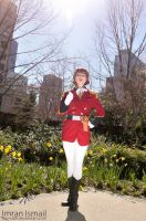 Gundam Wing - Lady Une by DISC-Photography