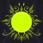 Crest Sketch 22: The Green Sun by andarix