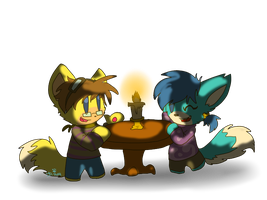 Dinner Date (RQ) by dreamer-the-wolf-3
