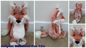 Jellycat Woodland Fox 12in by Vesperwolfy87