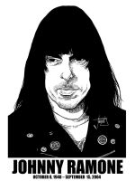 DSS No. 33 - Johnny Ramone by gothicathedral