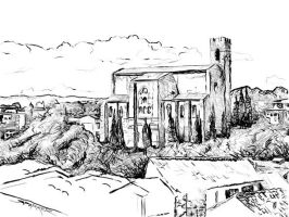 Siena sketch by space-for-thought