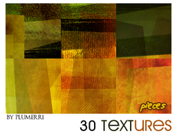 30 Textures - Pieces by plumerri
