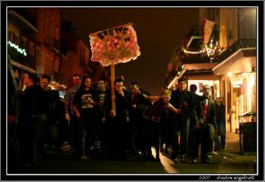 A Krewe of Zombies by drowningwoman