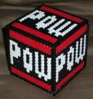 POW perler box by super-baka