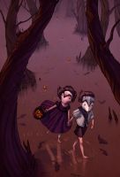 Hansel and Gretel by fabiolagarza