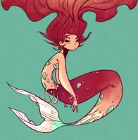 mermaid by catshake