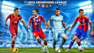 Champions League 2014 -15 Group E by jafarjeef