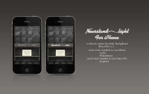 iPhone Newsstand by faceimagens