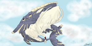 Levias, Great Spirit of the Sky by TheMerryWolf
