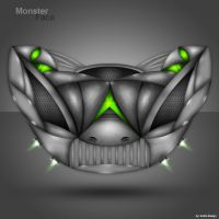 Monster Face Interface by Kotrla