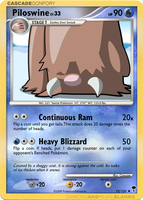 Piloswine - Shining Forest