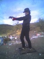 Me Shooting Stock 4 by ChaosStock