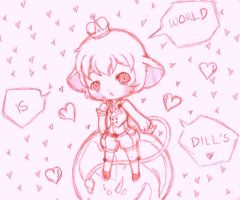 World is Dill's by Tamochi-Chan