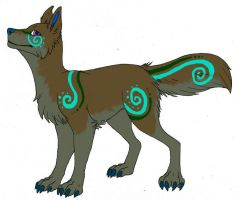 DT-Swirl Wolf by Hippous