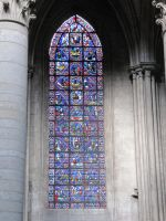 Stained glass 008 by Kowia