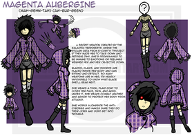 New Character Design: Magenta by The-Knick