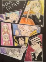 Soul Eater Characters Collage by JuviaLockser17
