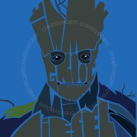 I am Groot by CreativeCamArt