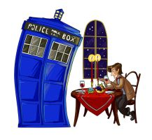 11th/Tardis by kissyushka