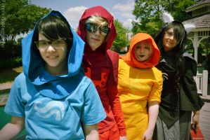 God Tiers (Beta Kids) [Homestuck] by FarorePhotography