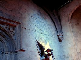 hogwarts Great hall film set tour by Sceptre63