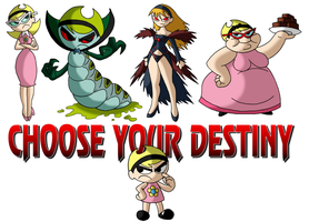 Choose Your Destiny - MANDY by retal4