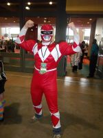 CTcon '12 - Red Mighty Morphin Power Ranger by TEi-Has-Pants