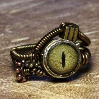 Steampunk Ring Eye by CatherinetteRings