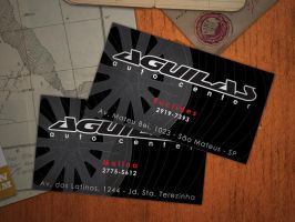 Aguilas Bussines Card by juliomolina