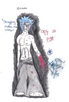 Only at night- colored by Nyte-Tyme-Vampire